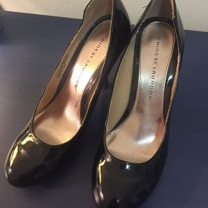 Patent Leather Pumps - Almost Brand New!